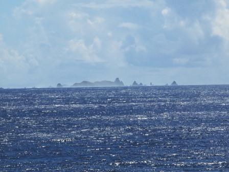 島が見えたぞー